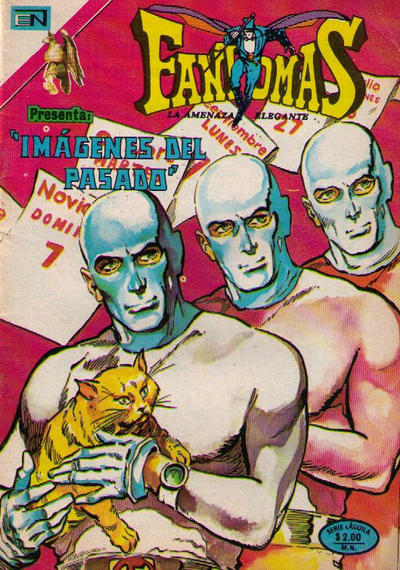 Cover for Fantomas (1969 series) #208