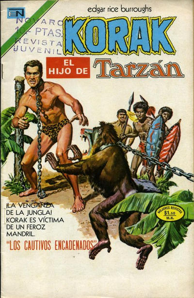 Cover for Korak (Editorial Novaro, 1972 series) #20