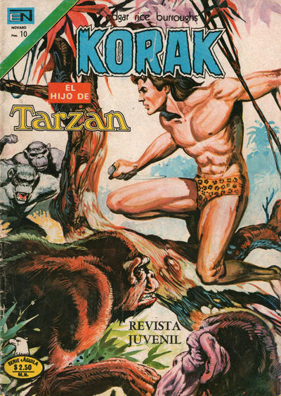 Cover for Korak (Editorial Novaro, 1972 series) #43
