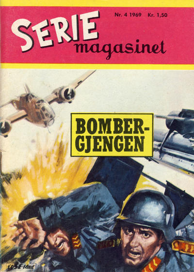 Cover for Seriemagasinet (Se-Bladene - Stabenfeldt, 1951 series) #4/1969