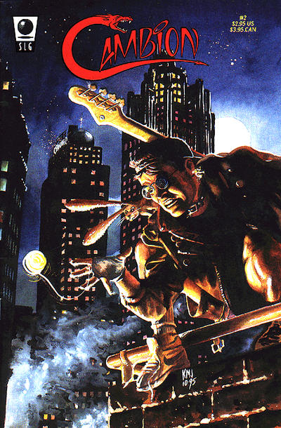 Cover for Cambion (Slave Labor, 1995 series) #2