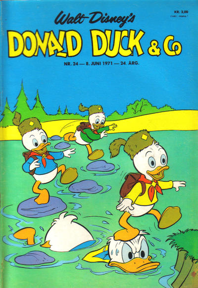 Cover for Donald Duck & Co (Hjemmet, 1948 series) #24/1971