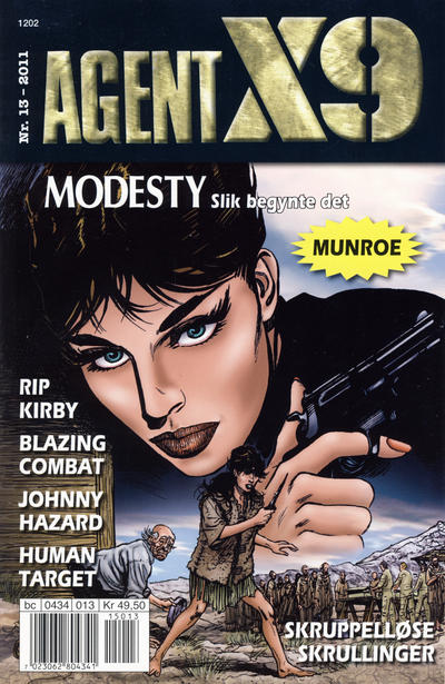Cover for Agent X9 (Egmont Serieforlaget, 1998 series) #13/2011