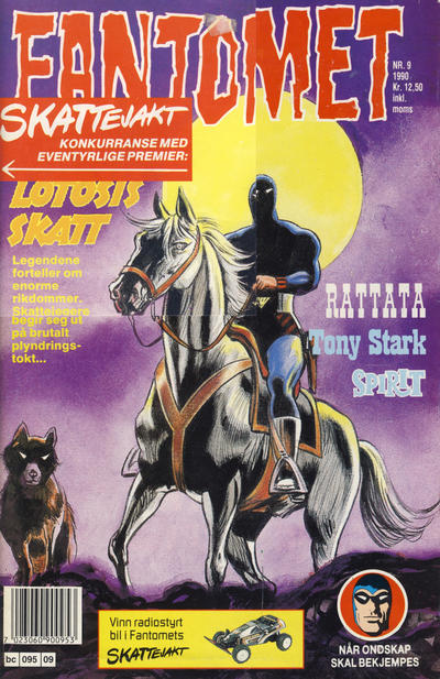 Cover for Fantomet (1976 series) #9/1990
