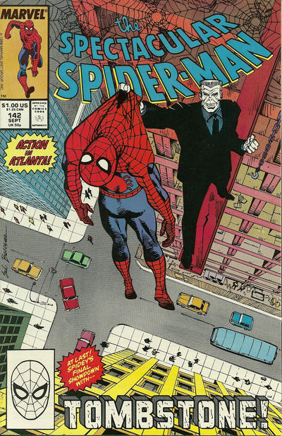 Cover for The Spectacular Spider-Man (Marvel, 1976 series) #142 [direct]