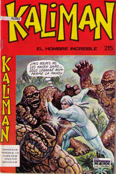 Cover for Kalimán (1974 series) #215
