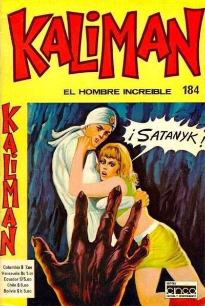 Cover for Kaliman (Editora Cinco, 1976 series) #184