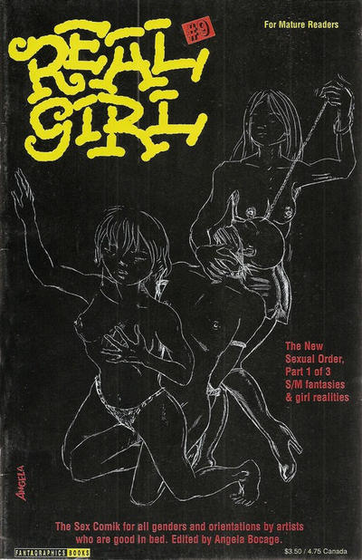 Cover for Real Girl (Fantagraphics, 1990 series) #9