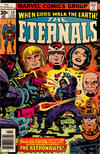 Cover for The Eternals (Marvel, 1976 series) #13 [30¢ Cover Price]