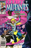 Cover Thumbnail for The New Mutants (1983 series) #34 [Newsstand Edition]