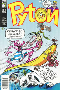 Cover Thumbnail for Pyton (Atlantic Förlags AB, 1990 series) #6/1992