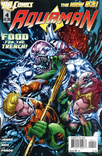Cover Thumbnail for Aquaman (DC, 2011 series) #4