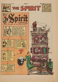 Cover Thumbnail for The Spirit (Register and Tribune Syndicate, 1940 series) #4/18/1948