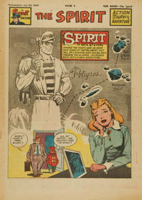 Cover Thumbnail for The Spirit (Register and Tribune Syndicate, 1940 series) #7/24/1949