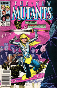 Cover Thumbnail for The New Mutants (Marvel, 1983 series) #34 [Newsstand Edition]