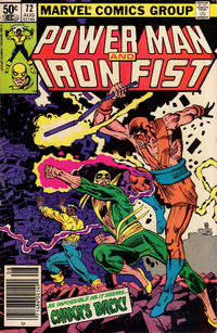 Cover Thumbnail for Power Man and Iron Fist (Marvel, 1981 series) #72 [Newsstand Edition]