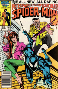 Cover for The Spectacular Spider-Man (1976 series) #121 [newsstand]