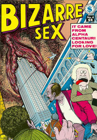Cover Thumbnail for Bizarre Sex (Kitchen Sink Press, 1972 series) #4 [5th printing]