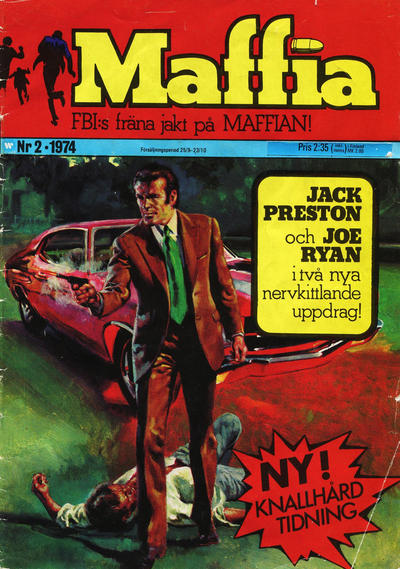 Cover for Maffia (1974 series) #2/1974