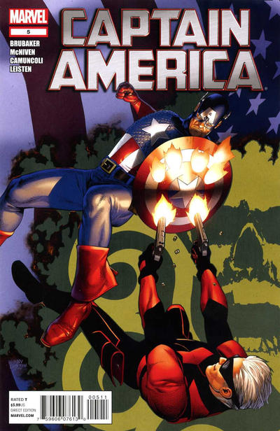 Cover for Captain America (Marvel, 2011 series) #5