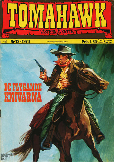 Cover for Tomahawk (1969 series) #12/1970
