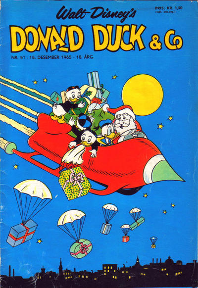 Cover for Donald Duck & Co (Hjemmet / Egmont, 1948 series) #51/1965