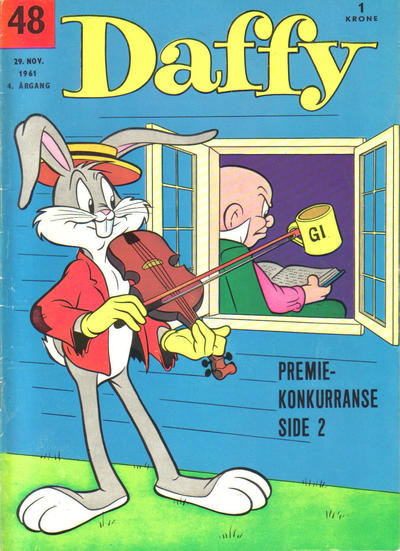 Cover for Daffy (Allers Forlag, 1959 series) #48/1961