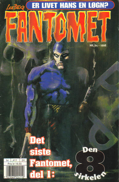Cover for Fantomet (1998 series) #24/1998
