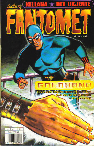 Cover for Fantomet (1998 series) #21/1998