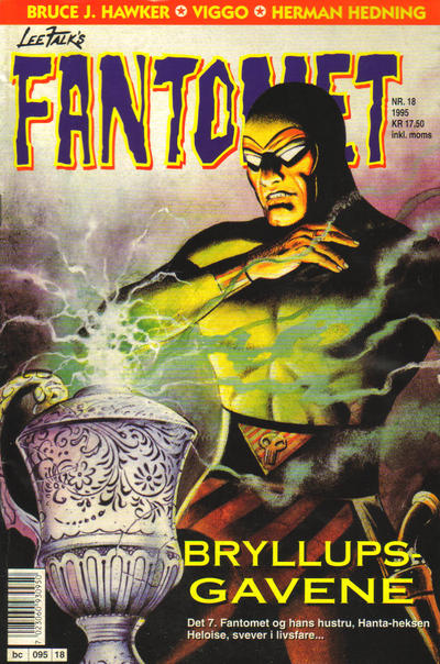 Cover for Fantomet (1976 series) #18/1995