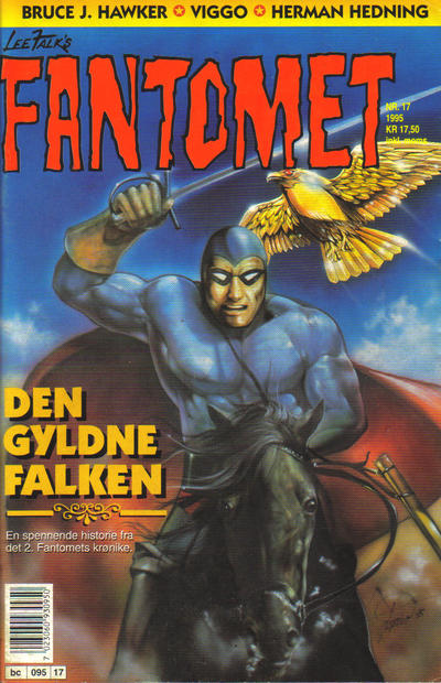 Cover for Fantomet (Semic, 1976 series) #17/1995