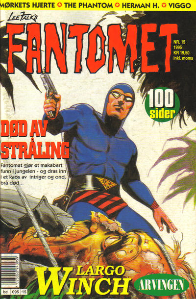 Cover for Fantomet (Semic, 1976 series) #15/1995