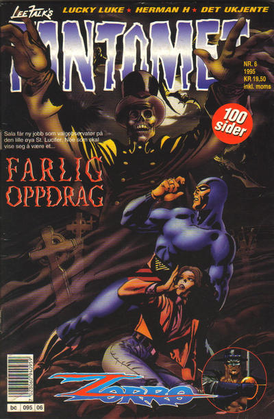 Cover for Fantomet (Semic, 1976 series) #6/1995
