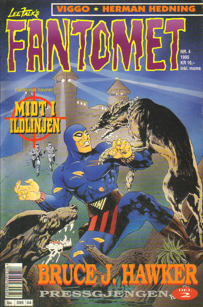 Cover for Fantomet (1976 series) #4/1995
