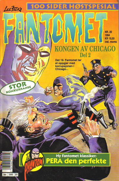 Cover for Fantomet (Semic, 1976 series) #20/1994