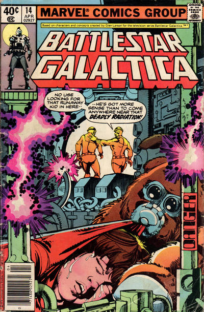 Cover for Battlestar Galactica (Marvel, 1979 series) #14