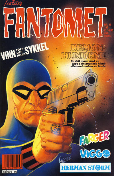 Cover for Fantomet (1976 series) #16/1991