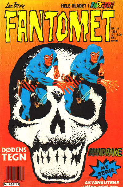 Cover for Fantomet (Semic, 1976 series) #18/1991