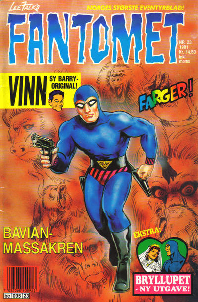 Cover for Fantomet (1976 series) #23/1991