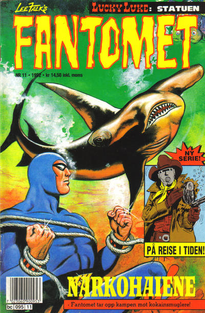 Cover for Fantomet (Semic, 1976 series) #11/1992