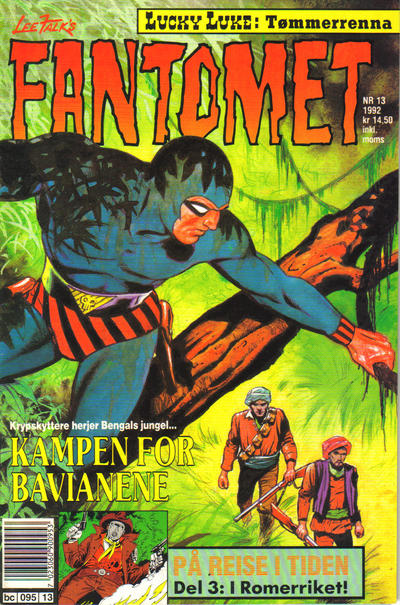 Cover for Fantomet (1976 series) #13/1992