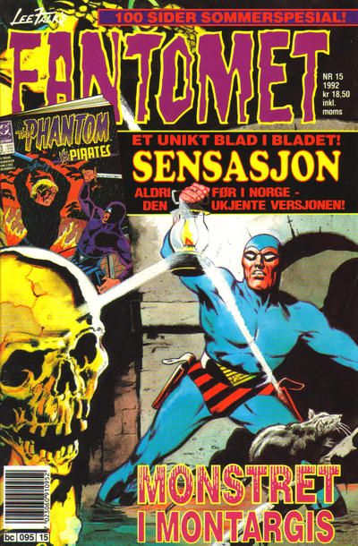 Cover for Fantomet (Semic, 1976 series) #15/1992