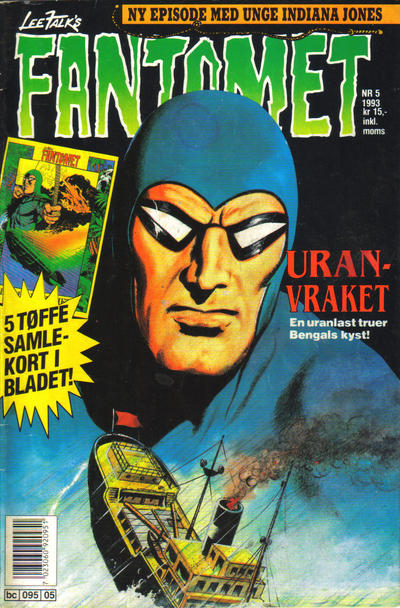 Cover for Fantomet (Semic, 1976 series) #5/1993