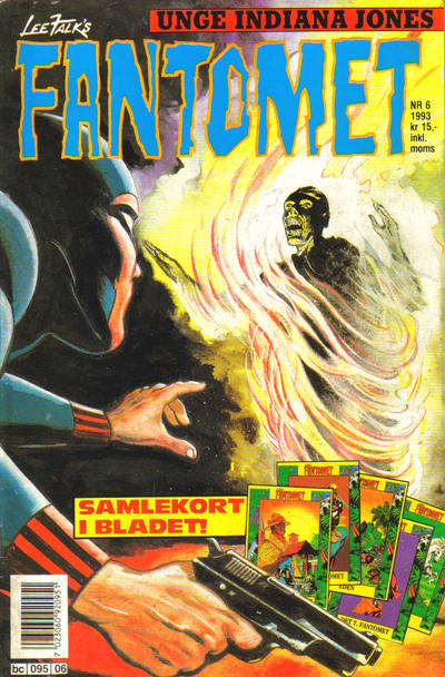 Cover for Fantomet (1976 series) #6/1993