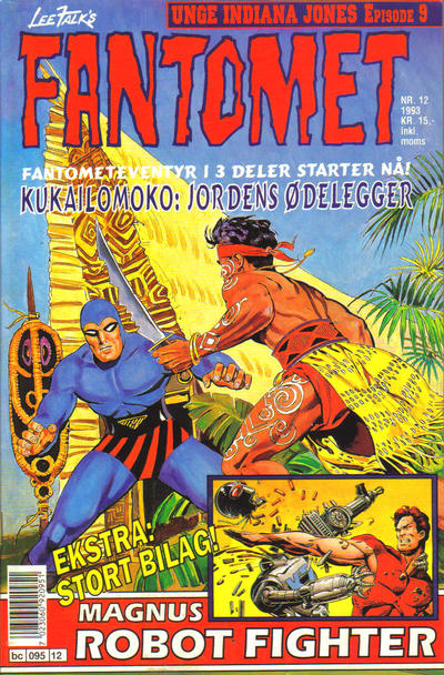 Cover for Fantomet (Semic, 1976 series) #12/1993
