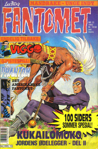Cover for Fantomet (Semic, 1976 series) #13/1993