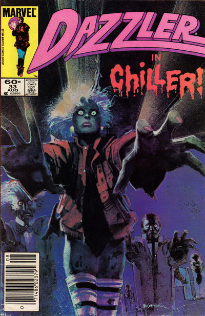 Cover for Dazzler (1981 series) #33