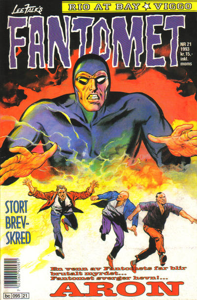 Cover for Fantomet (1976 series) #21/1993