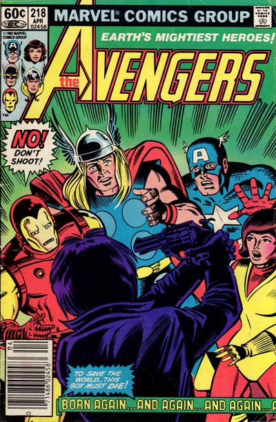 Cover for The Avengers (Marvel, 1963 series) #218 [Newsstand Edition]
