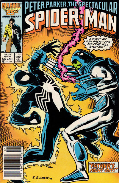 Cover for The Spectacular Spider-Man (Marvel, 1976 series) #122 [newsstand]